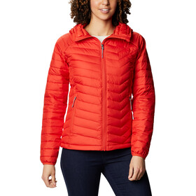 Columbia Powder Lite Capuchon Jas Dames, bold orange